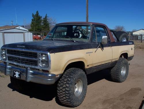1979 Dodge Ramcharger For Sale In Kingman Arizona 2 600 Obo