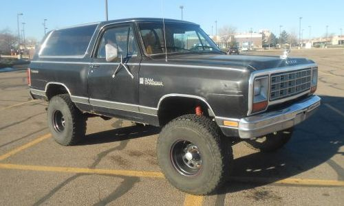 1985 Dodge Ramcharger For Sale In Denver Thornton