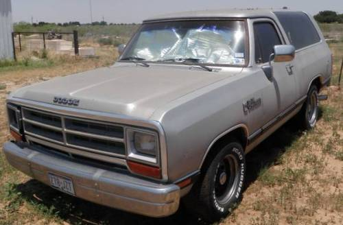 1988 Dodge Ramcharger 318 For Sale In Midland Odessa