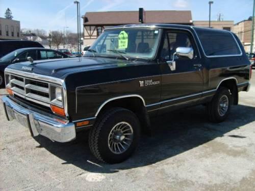 1989 Dodge Ramcharger 4x4 For Sale In Kaukauna Appleton