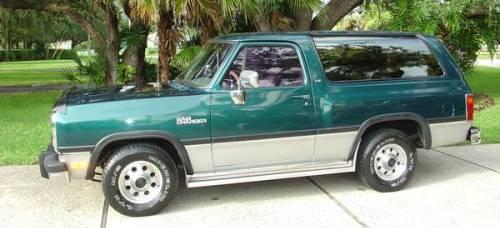 Craigslist Missoula Mt >> 1993 Dodge Ramcharger 150 2x4 5.2 318 cu. LE For Sale in ...