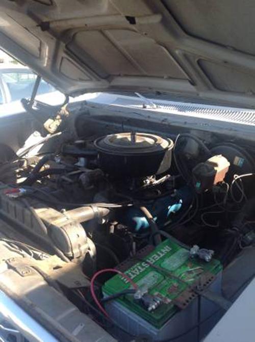 1978 Merced CA Engine
