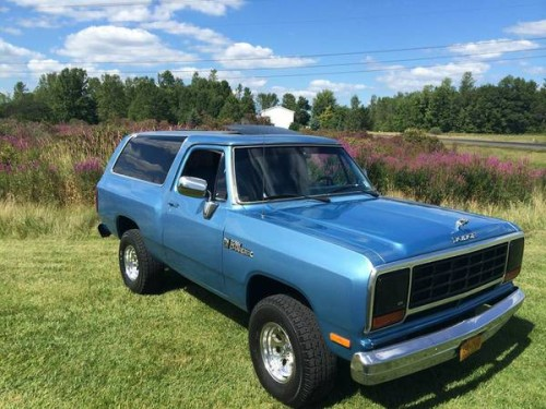 1983 Dodge Ramcharger 2WD 360 V8 For Sale in Lockport NY