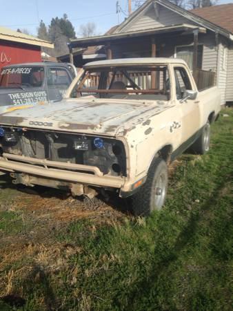 Craigslist Idaho Falls >> 1984 Dodge Ramcharger 318 V8 For Sale in Klamath Falls Oregon