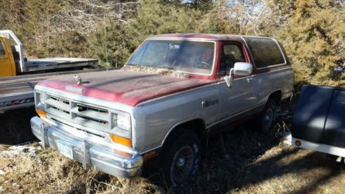 1988 Dodge Ramcharger 4WD For Sale in Cedar Rapids IA