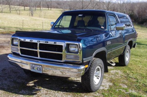 1992 Dodge Ramcharger For Sale in Hermitage MO