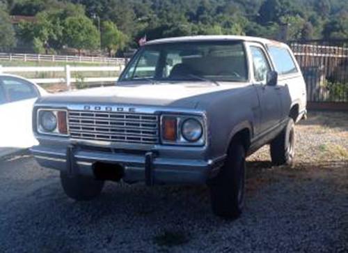 1975 Dodge Ramcharger For Sale Craigslist Autos Post