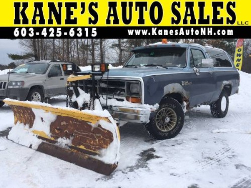 1988 Kane's Suto Sales NH