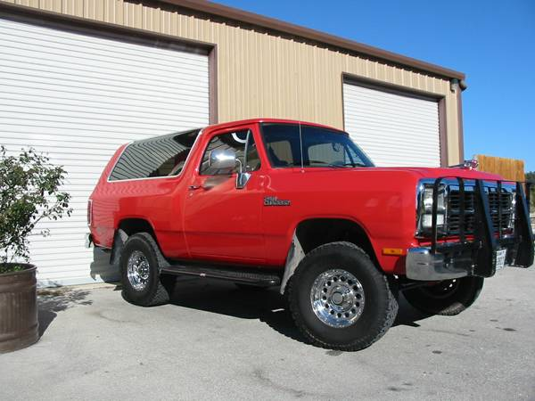 1993 4x4 Dodge Ramcharger For Sale In Blanco Tx