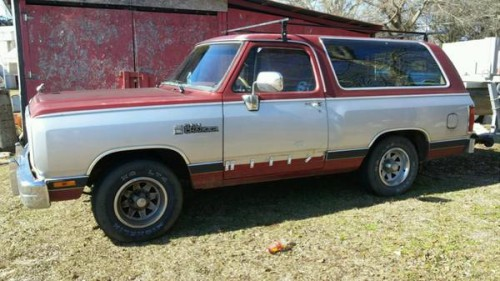 1988 318 Dodge Ramcharger For Sale in Taylor AL