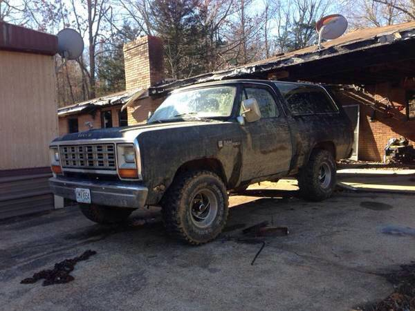 1982 dodge ramcharger 318 automatic with 33s for sale in. Cars Review. Best American Auto & Cars Review