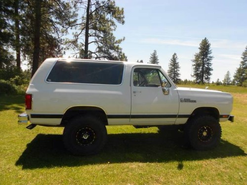 1990 4WD Dodge Ramcharger For Sale in Fort Mohave AZ