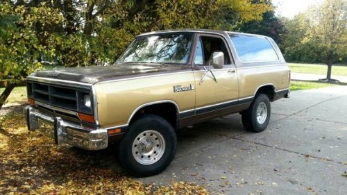 1987 Dodge Ramcharger Royal Se For Sale In Rochester Ny