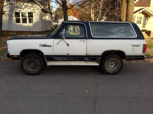 1983 Dodge Ramcharger 318 V8 Auto For Sale In St Cloud Mn