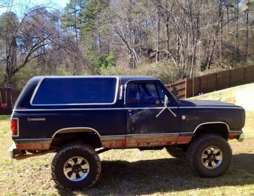 1985 Dodge Ramcharger Automatic For Sale in Macon, GA