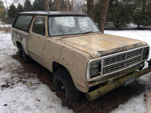 1979 dodge ramcharger v8 auto for sale in mchenry il - Craigslist florence sc farm and garden ...