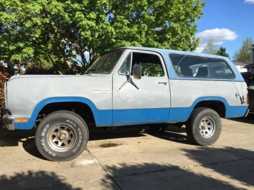 1979 Dodge Ramcharger 360 V8 Auto For Sale in Medford, OR