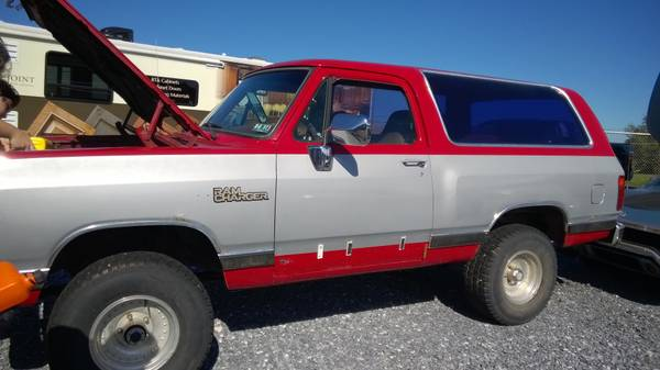 1990 Dodge Ramcharger Auto For Sale in Lancaster PA