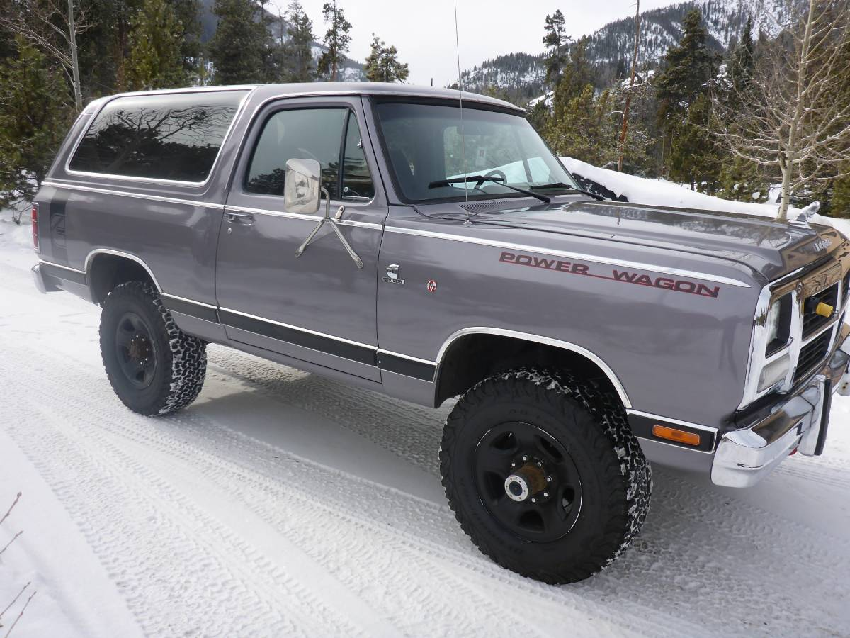 1985 Dodge Ramcharger 4x4 Automatic For Sale In Vail Co