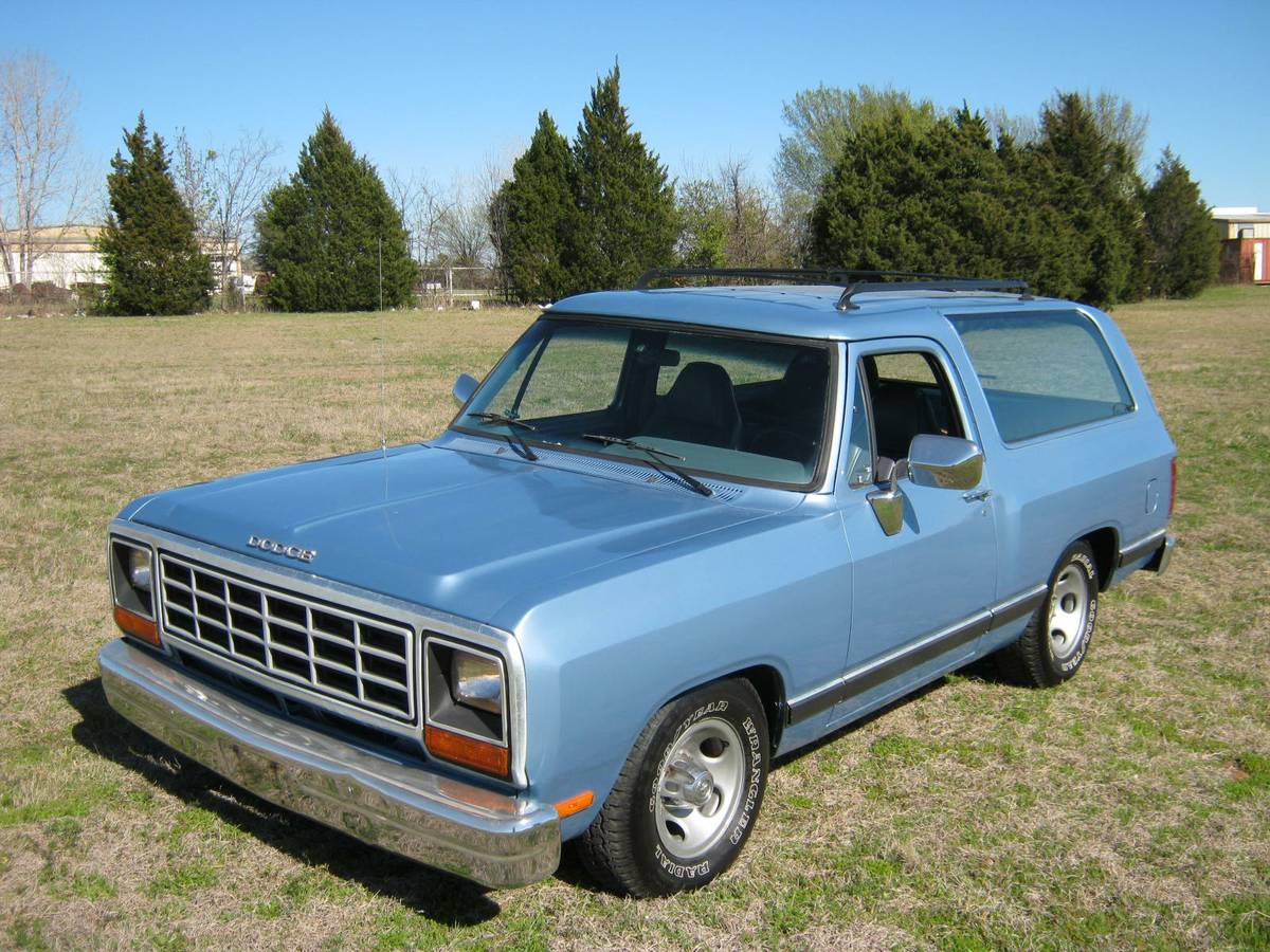 1988 Dodge Ramcharger 318 Automatic For Sale In Old East