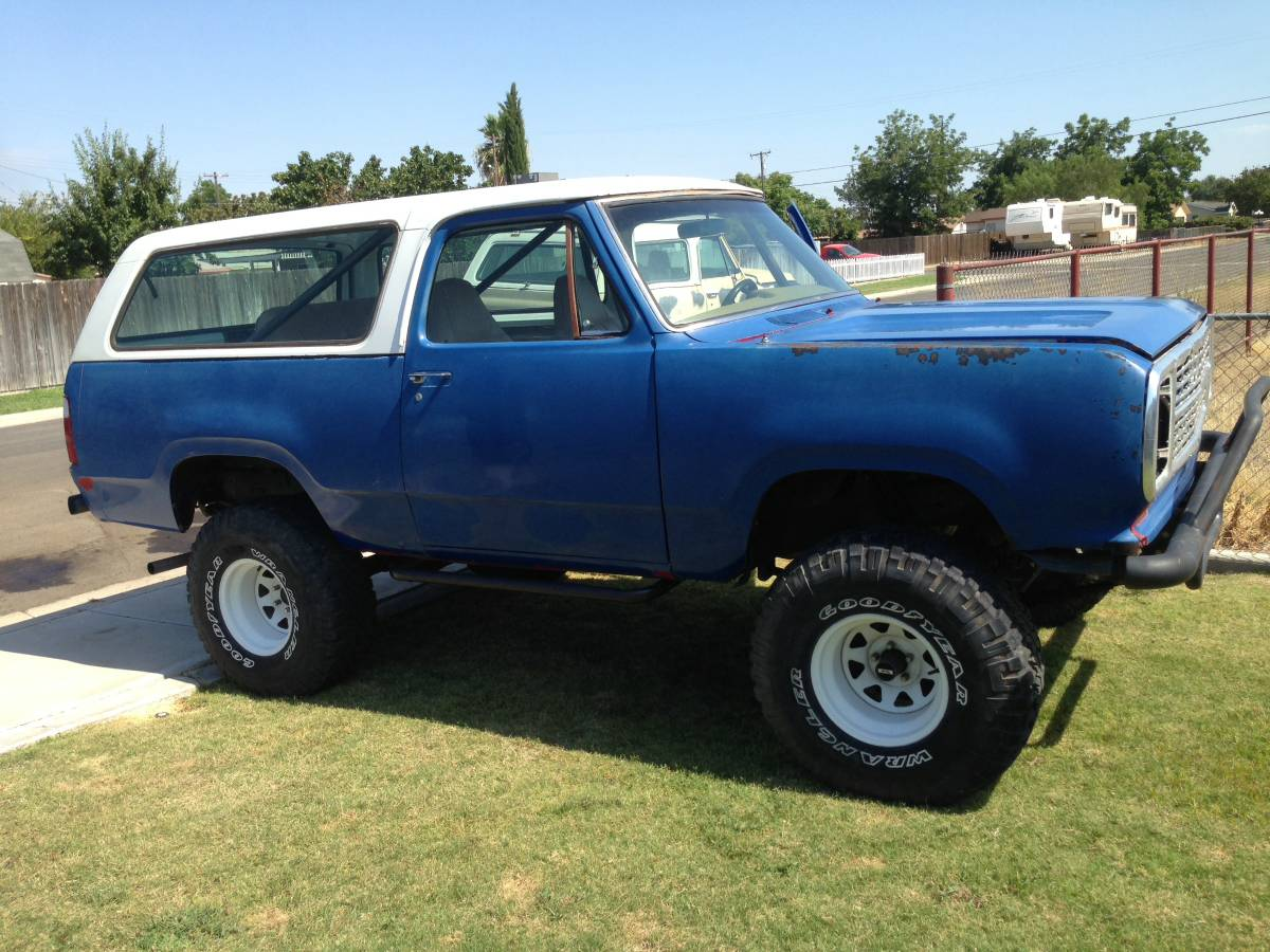 Craigslist Houston Tx Gmc Parts For Pinterest: 1974 Dodge Ramcharger Smog Exempt 4X4 For Sale In
